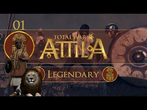 Total War: Attila (Legendary) - Aksum - Ep.01 - Spicy Faction!