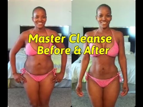 Master Cleanse Before & After ( 24 Days )