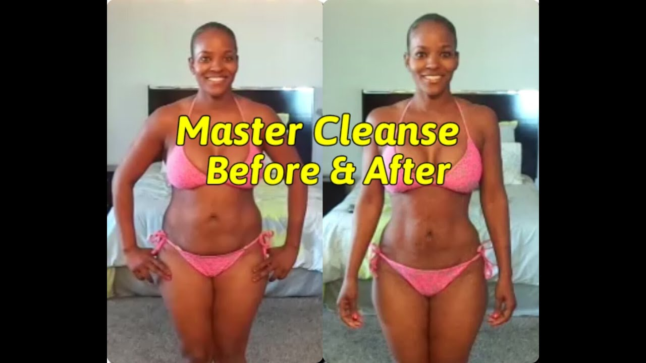 Master Cleanse Before After 24 Days Youtube