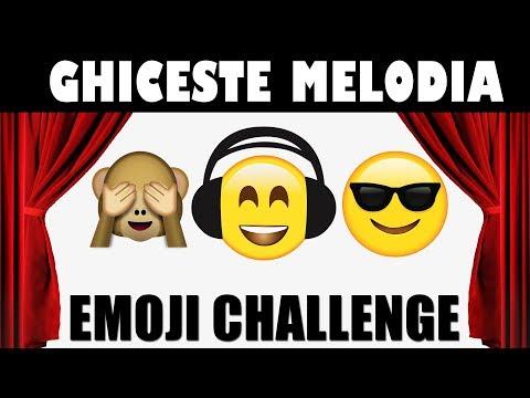 Emoji Challenge: Ghiceste Melodia