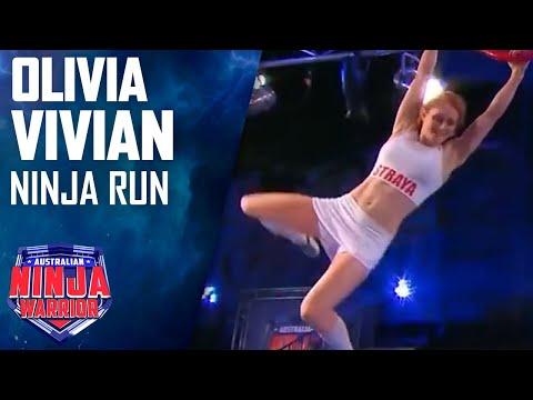 Olivia Vivian Full Run | Australian Ninja Warrior 2017