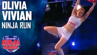 Olivia Vivian Full Run  Australian Ninja Warrior 2017