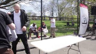 Alik Staley ft Quim Cardona take trip out to Philly am contest