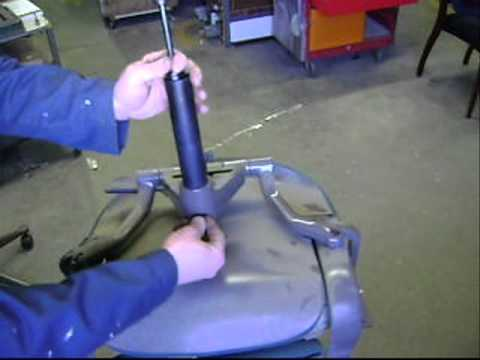 Office Chair Repair Herman Miller Gas Cylinder Youtube
