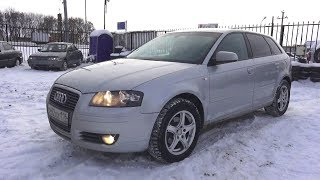 2007 Audi A3 1.6L. Start Up, Engine, and In Depth Tour.