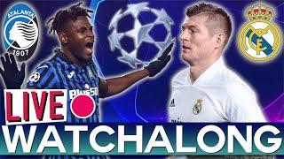 Atalanta vs Real Madrid - Champions League Round of 16 (RTV Live Watchalong)