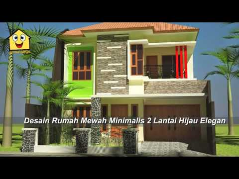 Desain Rumah Mewah Minimalis 2 Lantai (Luxury Home Design Minimalist 2nd Floor)