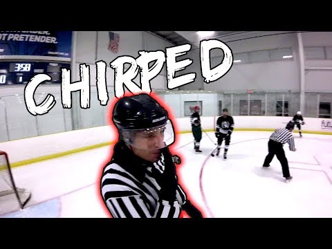 CHIRPED BY THE REF?! | GoPro Hockey | Beer League