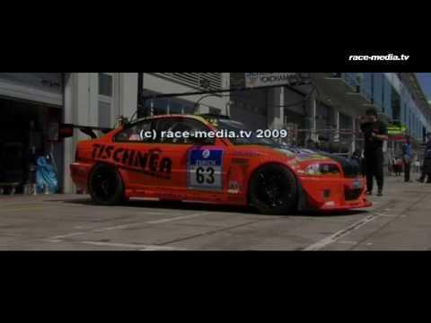 24h race nurburgring nordschleife 2009 tischner racing team video
