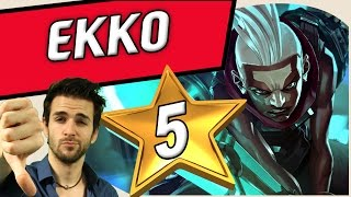 EKKO LEAGUE OF LEGENDS ♦ GAMEPLAY MID Français Skyy