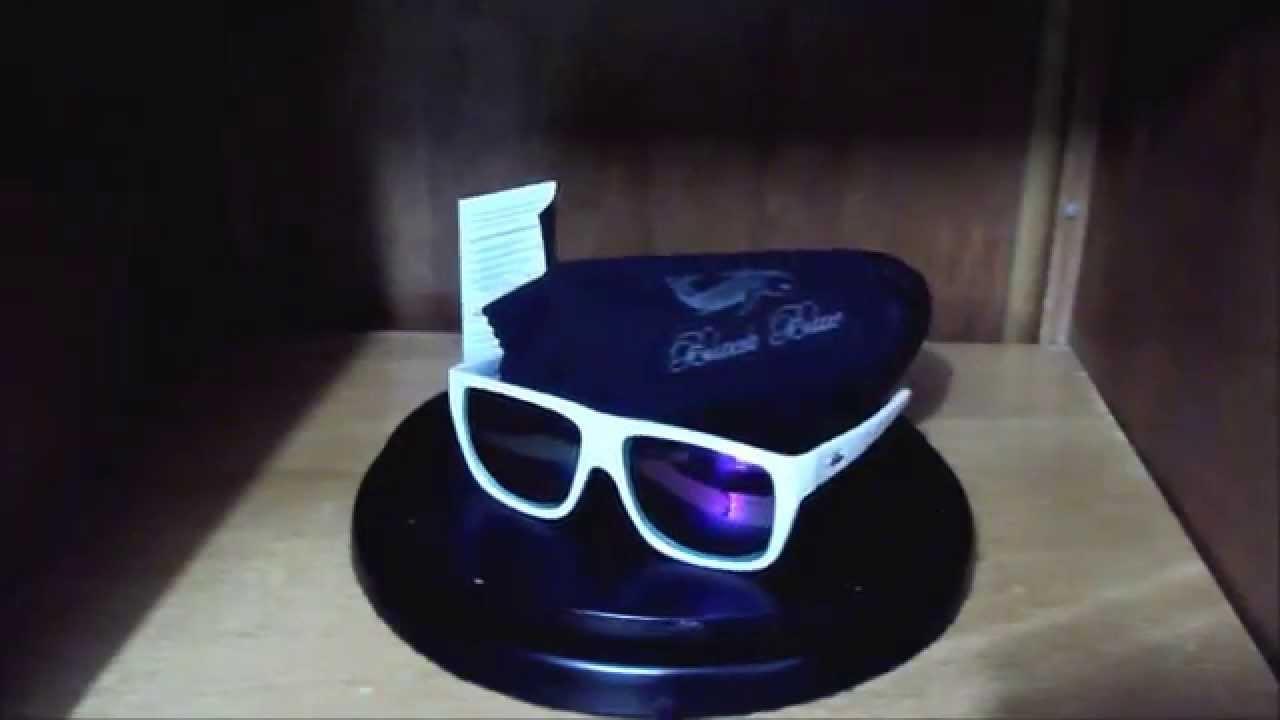 Vendo Óculos de Sol Black Blue - Lente Violeta ( Carpa Prata ) - Branco -  100% ORIGINAL f69c67e7fa