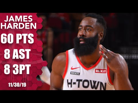 1 Year Ago Today: Harden scores 60 points in 30 mins in a 158-111 win over the Hawks. Harden also added 3 rebounds & 8 assists while shooting 16/24 from the floor including 8/14 from 3 & 20/24 from the line. Harden was 1 point shy of his career high even though he sat out the entire 4th Quarter.