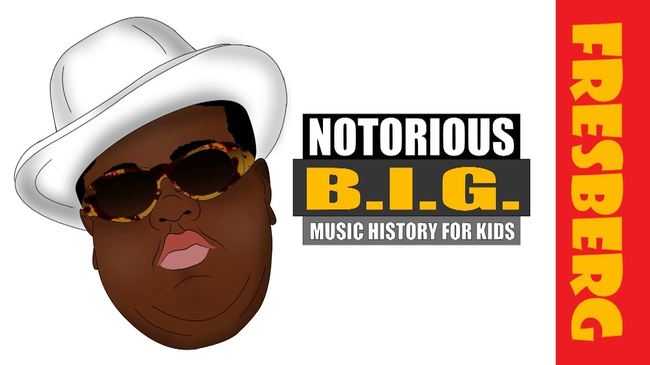 Music History for kids | Hip-Hop | Christopher Wallace aka the Notorious B.I.G. or Biggie Smalls Bio