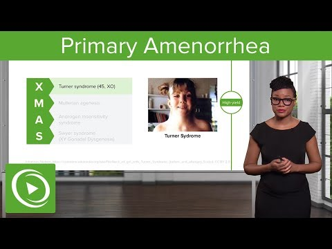 Primary Amenorrhea: Causes & Menstrual Cycles – Gynecology | Lecturio