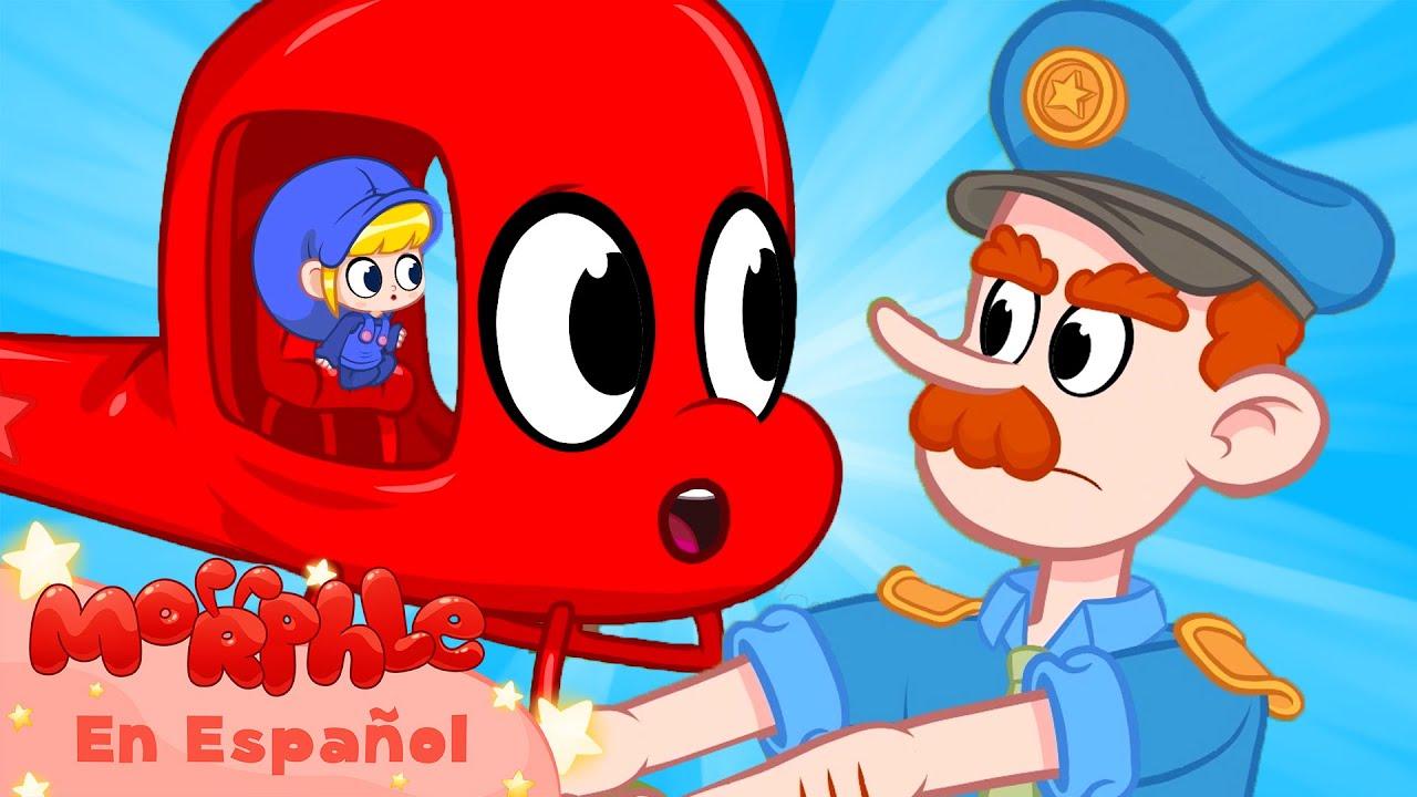 Morphle en Español | Mi coche de policía rojo | Caricaturas para Niños | Caricaturas en Español