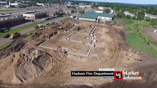 Hudson Fire Department Progress 8.29.19
