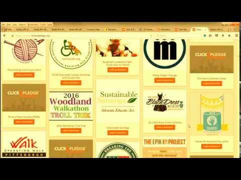 Connect Exchange - Click & Pledge Peer to Peer Fundraising