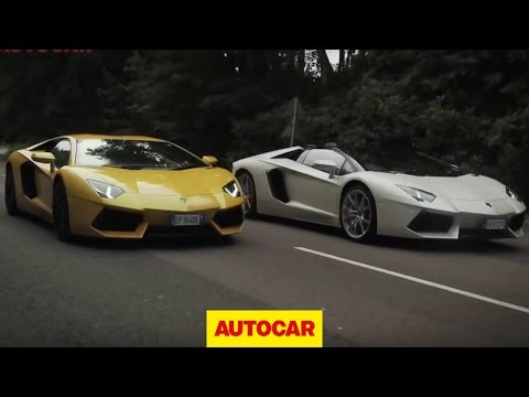 Lamborghini Aventador challenge 2: the noise test