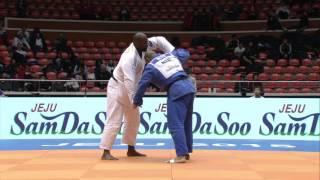 Teddy RINER vs Roy MEYER Judo Grand Prix Jeju 2015
