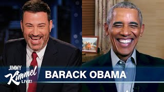 Download President Obama is Scared of Sasha and Roasts Donald Trump