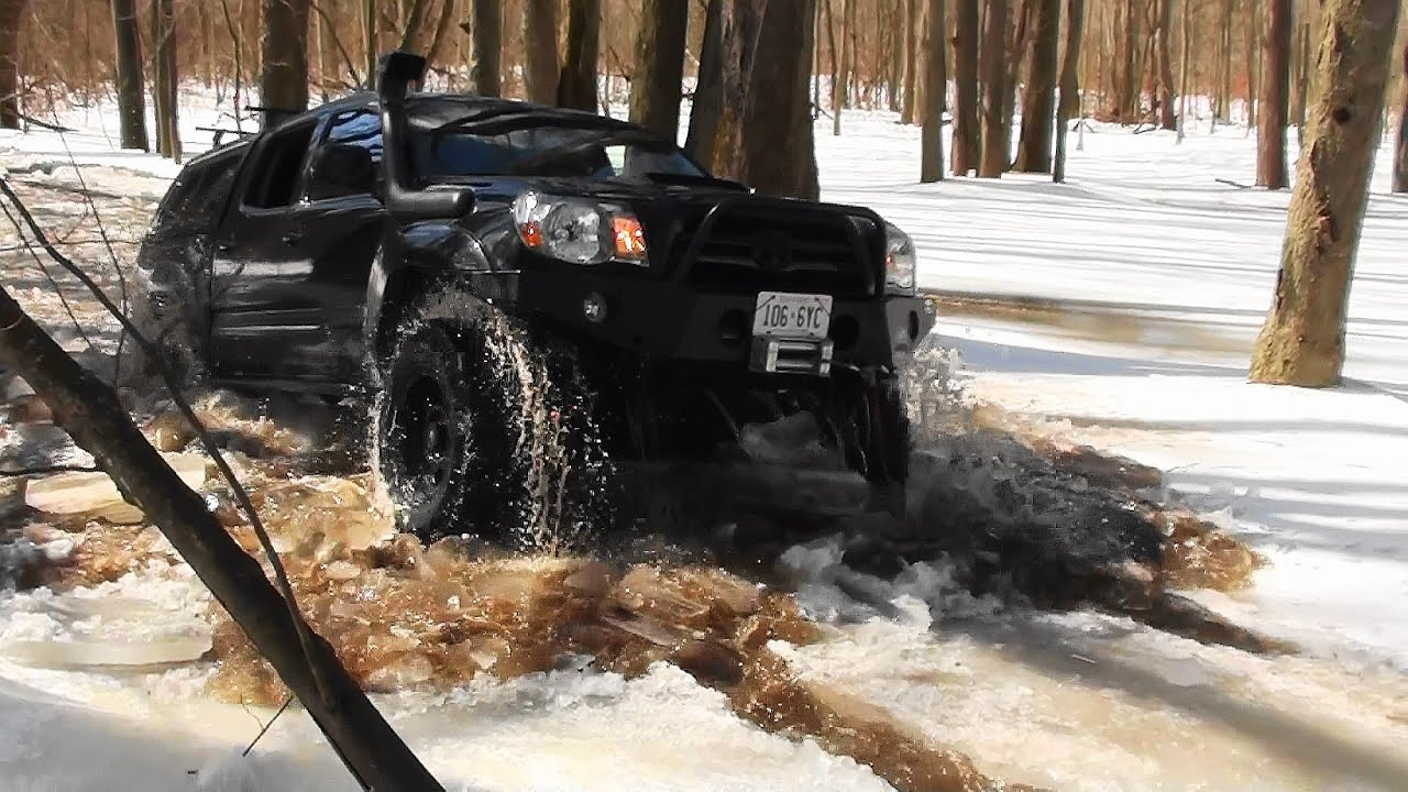 Toyota Tacoma Ice Breaker Youtube