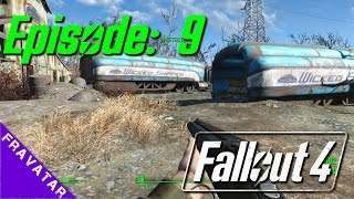 Fallout 4 : Ep09 - Wicked Shipping & Abernathy Farms.