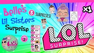 L.O.L Lil Sisters Series 3 Surprise Doll Ball Opening - New 2018 x1