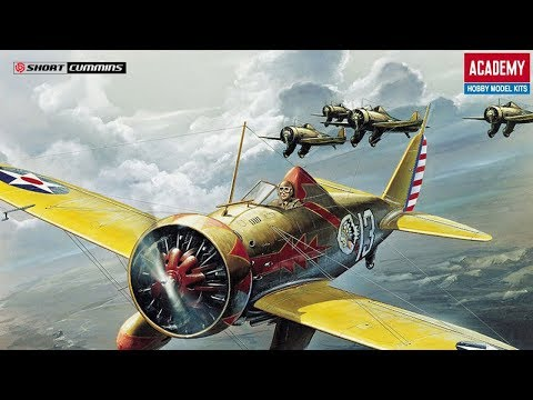 Academy 1:48 P-26 'Peashooter'