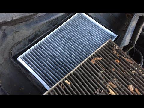 Как поменять фильтр салона в Шевроле Нива