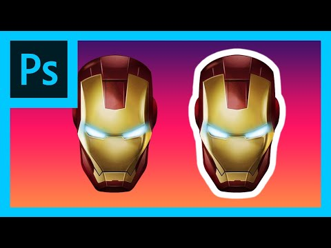Photoshop Tutorial: Adding Perfect Outlines Super Quickly! thumbnail