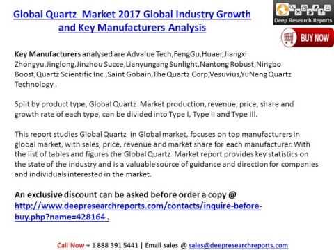Global Quartz Crucible Market 2017 Development Trends and Forecasts Analysis
