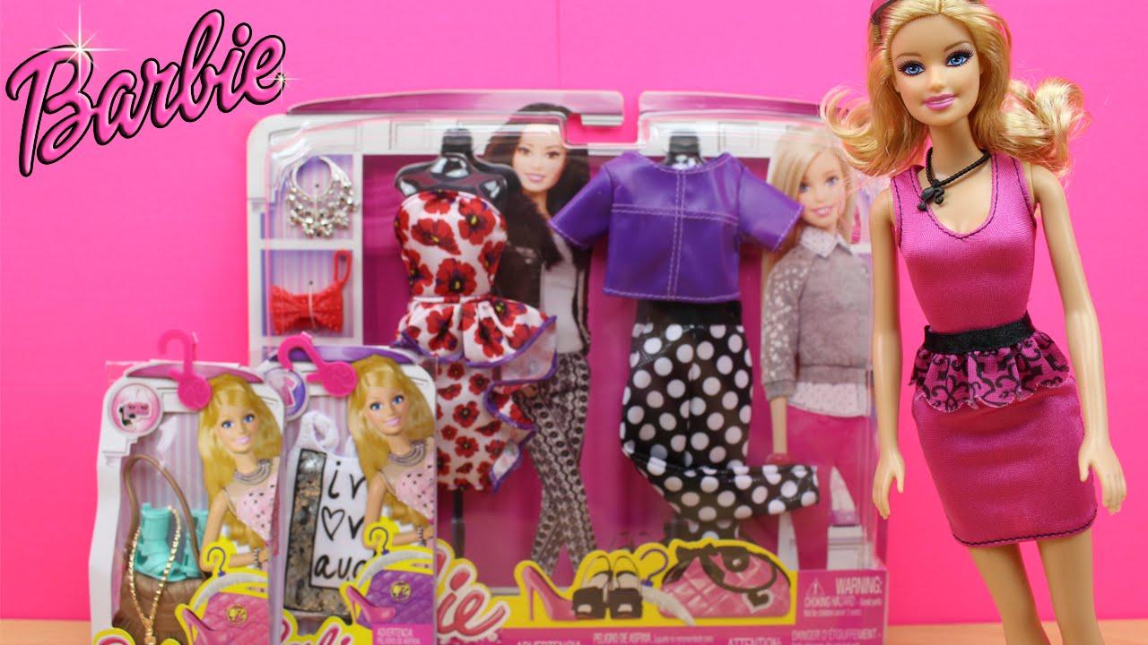 En Y De Ropa La Muñeca Barbie EspañolHaul Accesorios Juguetes gyf76Yvb