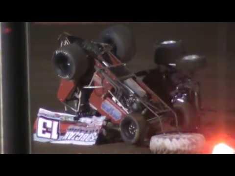 brian nuckles flip attica raceway park