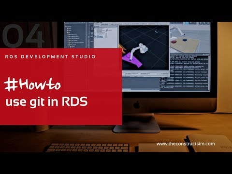 [RDS] 004 - ROS Development Studio #Howto use git in RDS