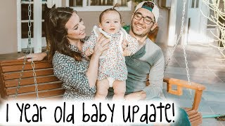 Annabelle's 12 Month Baby Update! | Hayley Paige