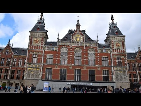 Amsterdam Centraal Station (HD)