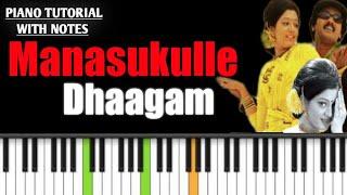 manasukulle dhagam keyboard notes   autograph