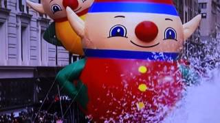 Confetti on Macy's Thanksgiving Parade