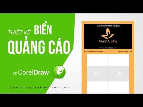 Tutorial CorelDraw: Thiết kế biển quảng cáo với CorelDraw