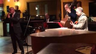 Scott Dennis sings at January Jazz Jam