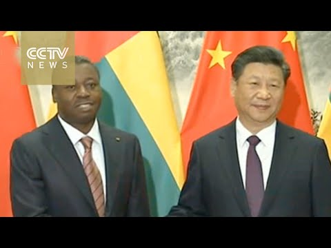 Xi Jinping holds welcoming ceremony for visiting Togolese President Faure Essozimna Gnassingbe