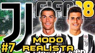 FIFA 18 JUVENTUS Modo Carrera #7 | PROBLEMAS FICHAJE CRISTIANO RONALDO | MODO REALISTA