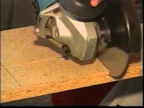Disco corte madera para amoladora youtube for Cortar madera con radial