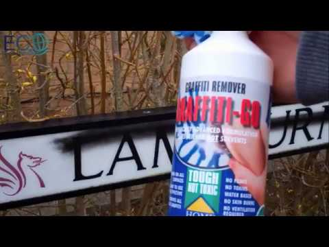 How to Remove Graffiti FAQ's - Eco Solutions Powerful Removers