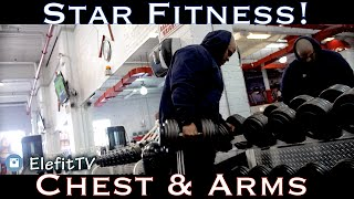 Training Chest & Arms @ Bronx, Star Fitness !