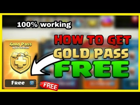 💎Get Free Gold Pass In Clash Of Clan/how To Get Free Gold Pass In Coc/savage Queen Ariana