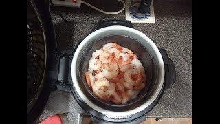 Ninja Foodi - Steamed Shrimp