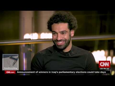Exclusive interview Mohamed Salah with CNN