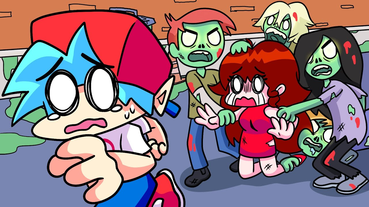 Download Friday Night Funkin Logic, But ZOMBIES! | Cartoon Animation