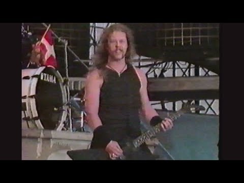 Metallica - Live in Moscow, Russia (1991) [Full Pro-Shot] [VHS HD Upscale]
